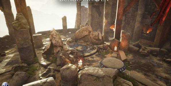 Dungeonhaven je další souls hrou